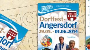 Dorffest in Angersdorf