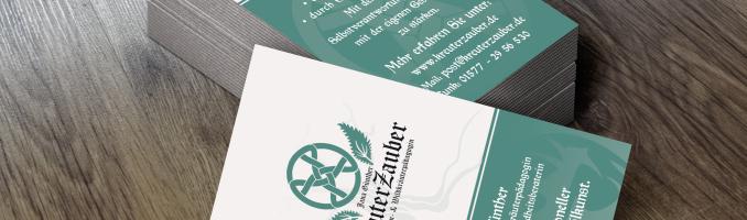 Visitenkarten KreuterZauber