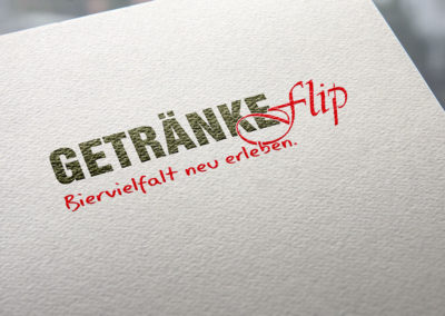 Getränke Flip – Logo