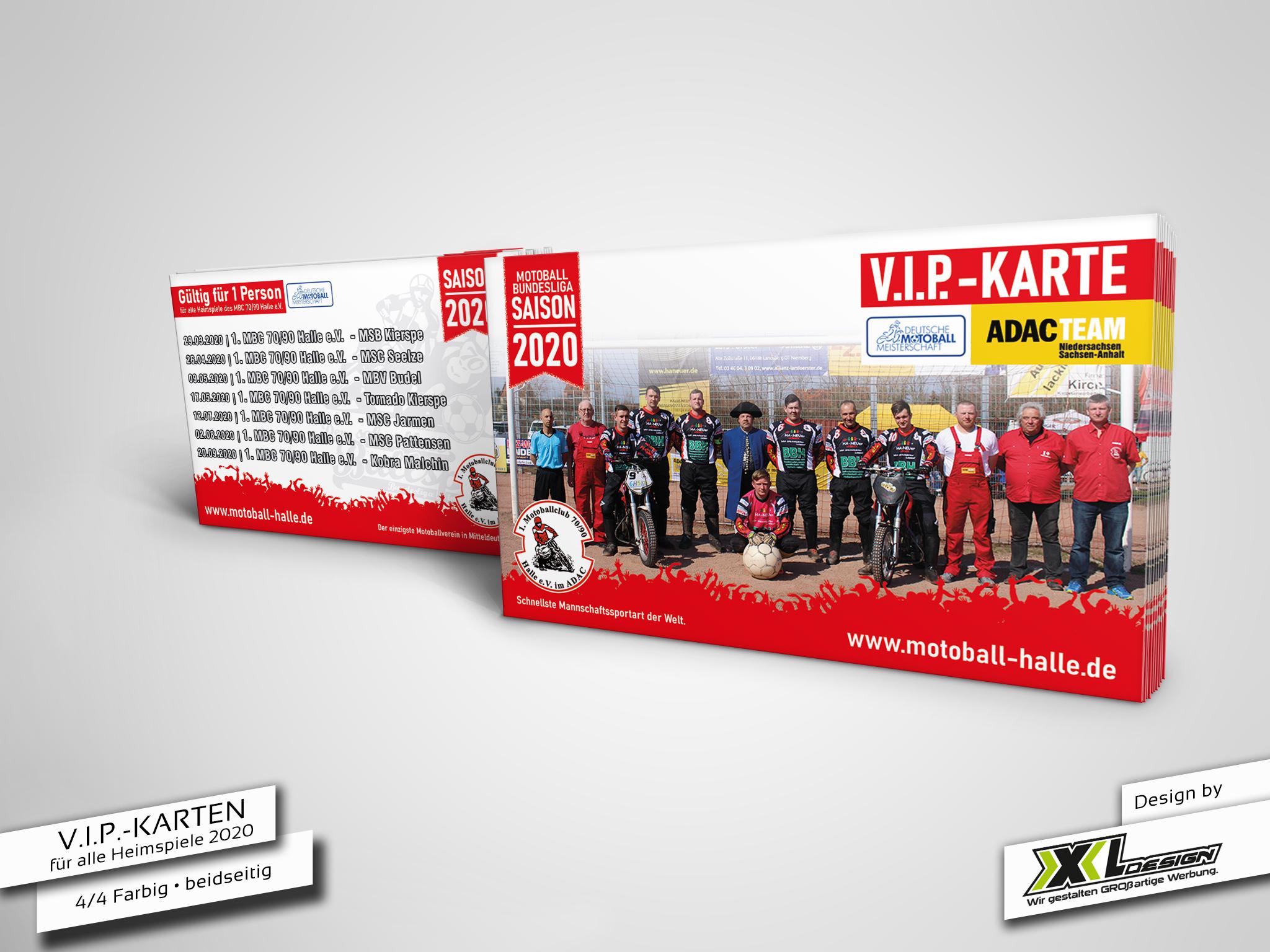 VIP-Karten Motoball
