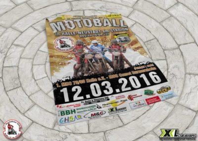 Motoball Plakate